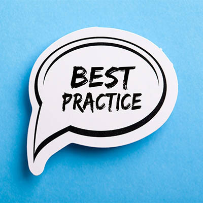 Best Practices are What Make Us Stand Out